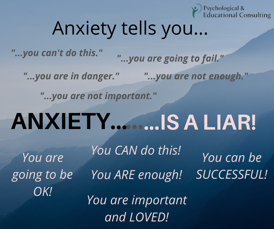 Anxiety is a Liar!