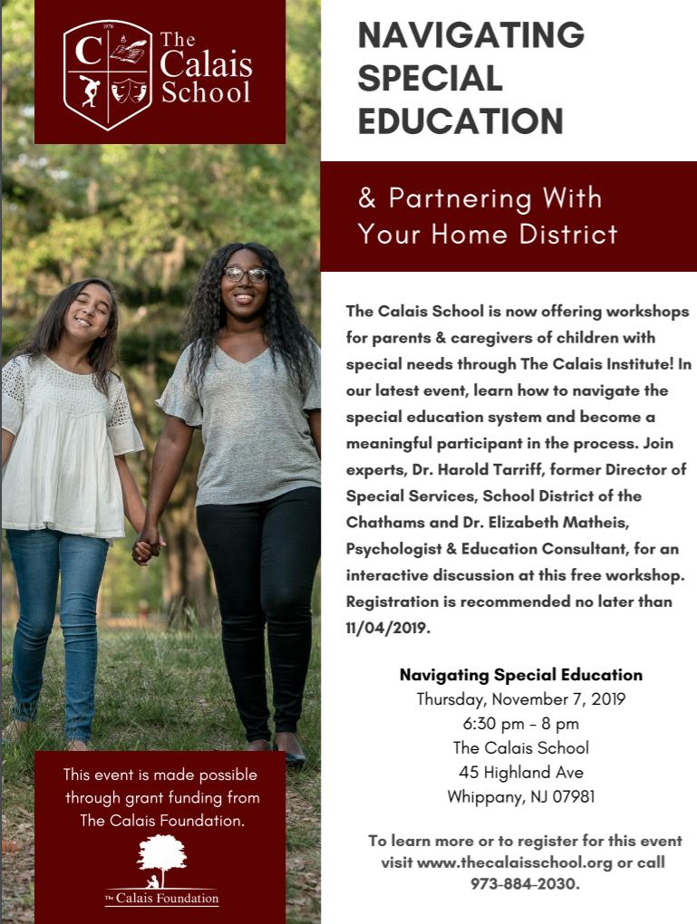 Navigating Special Education Presentation