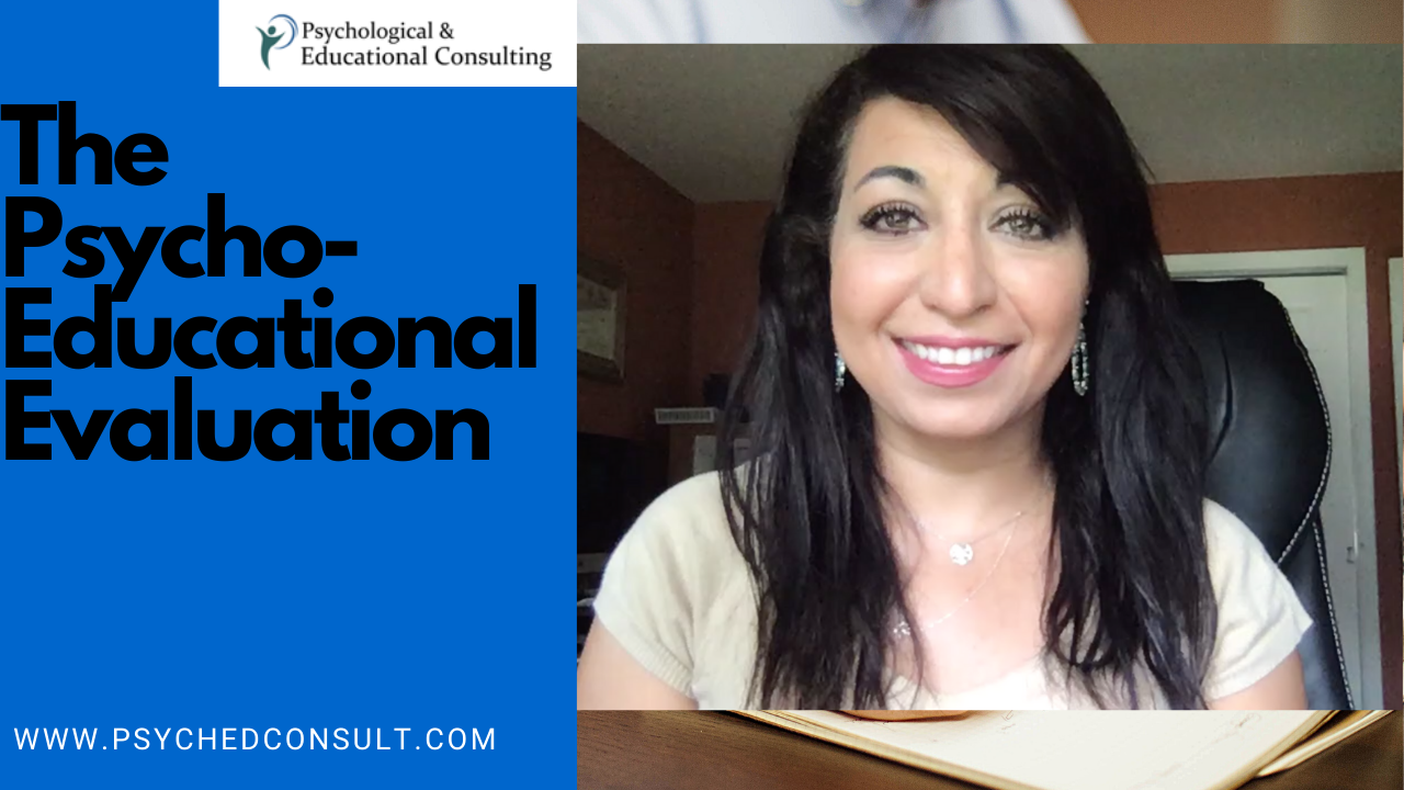 Psycho-Educational Evaluations are Now Available