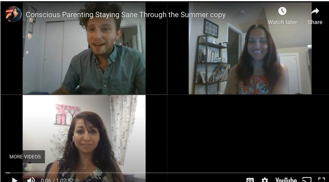 Webinar: Conscious Parenting: Staying Sane Through COVID-19 Summer