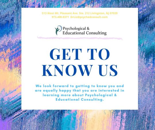 Get to Know Us!