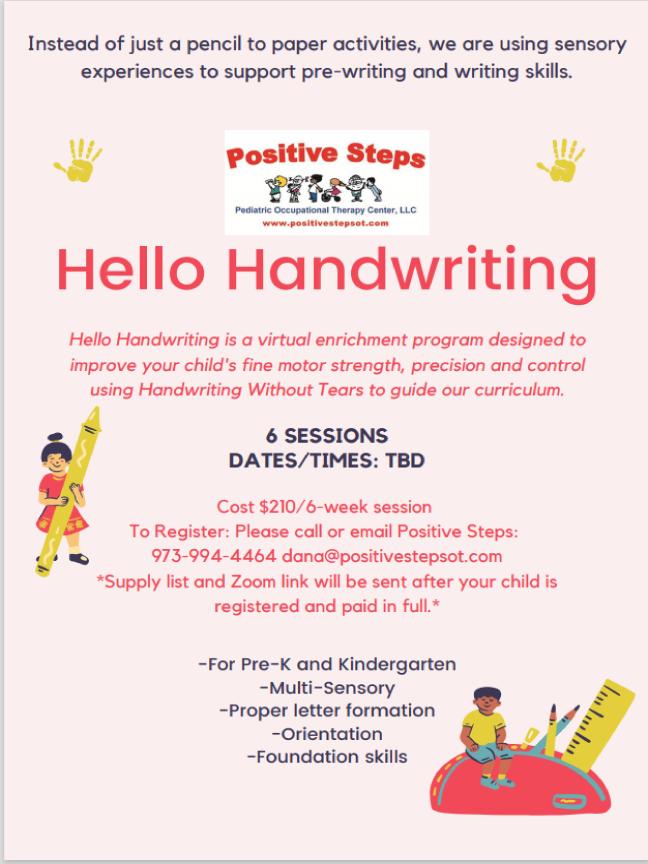 Hello Handwriting