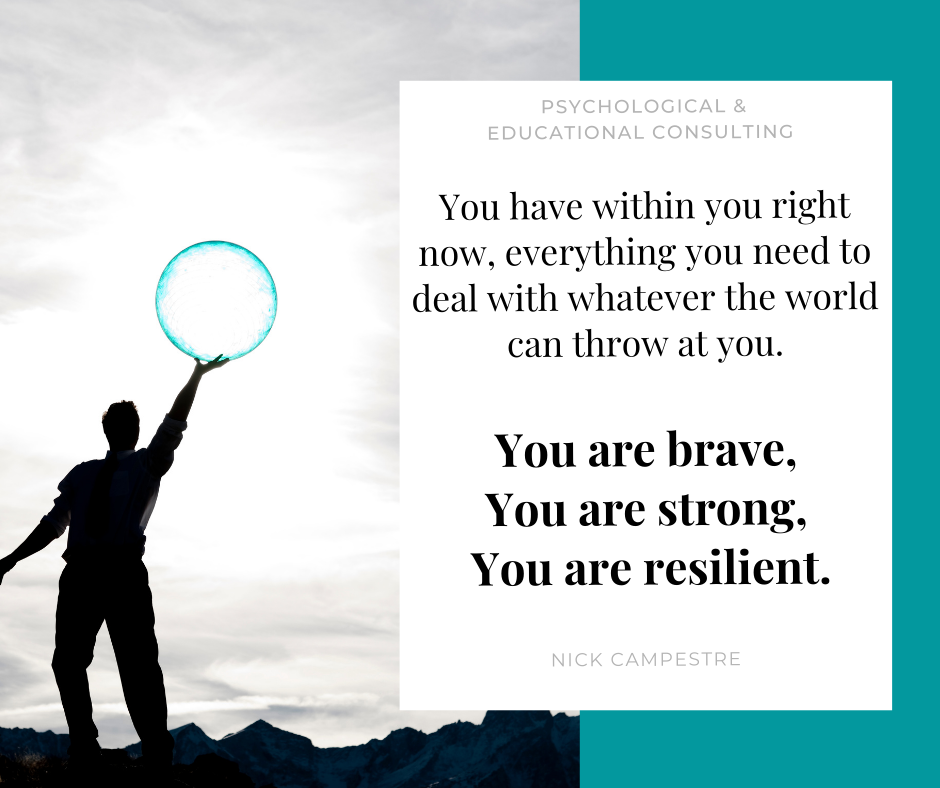 You already have everything you need within you right now.