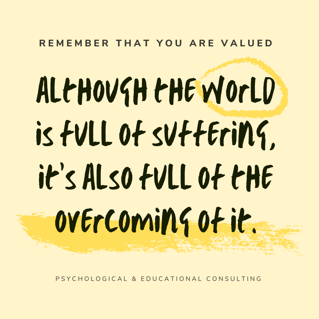 Overcoming it