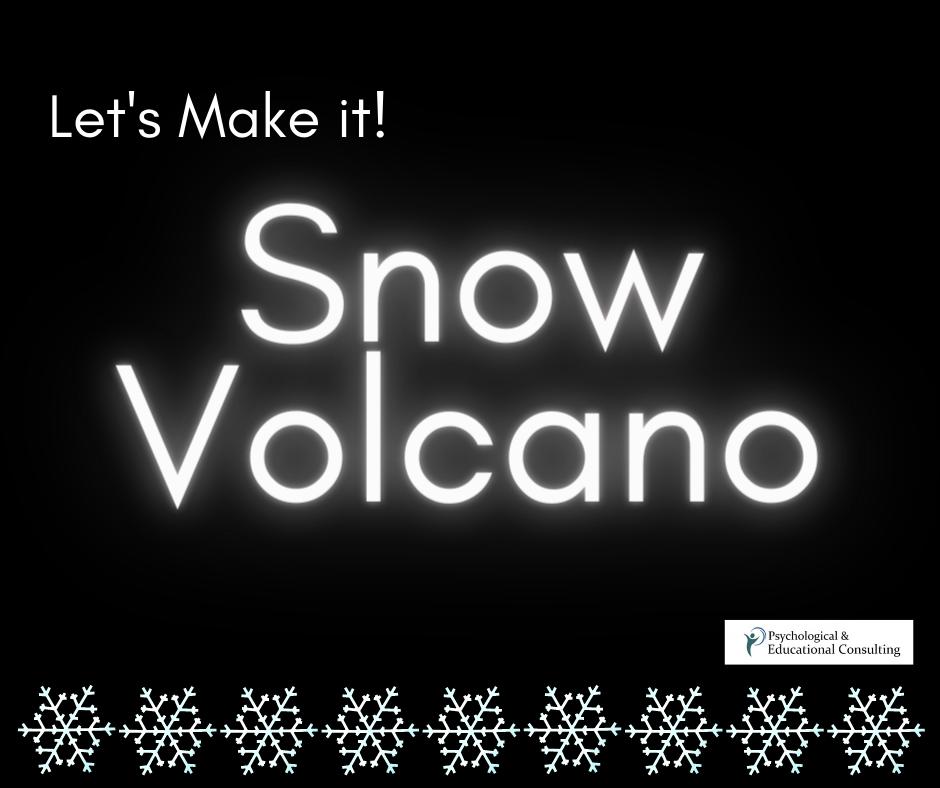 Snow Volcano