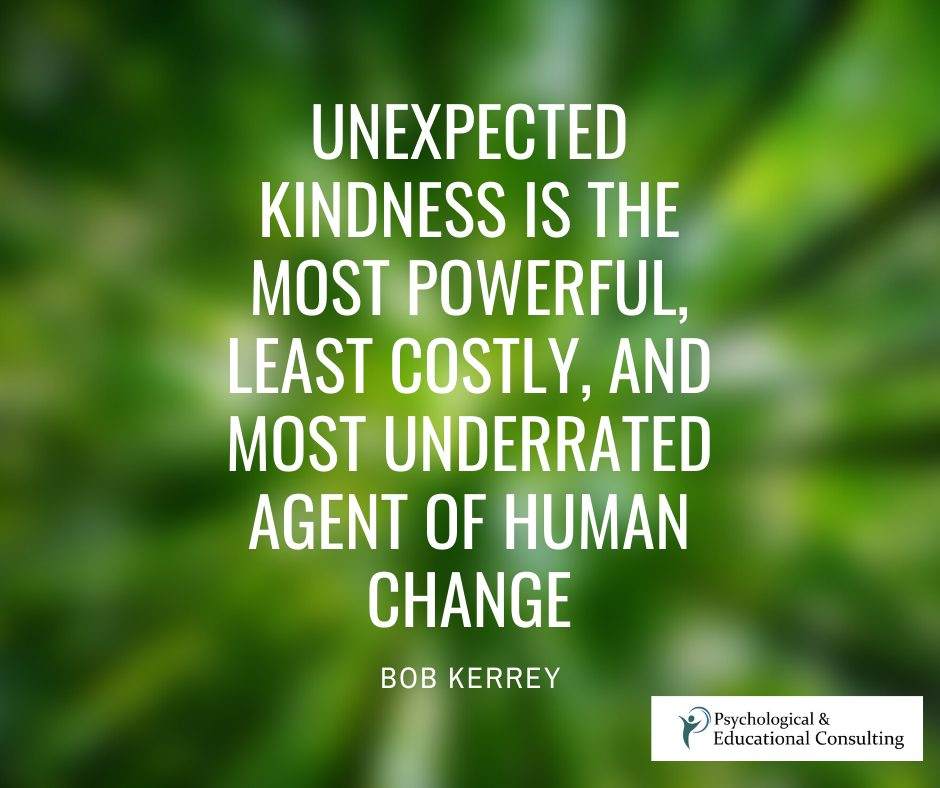 Unexpected Kindness is Powerful!